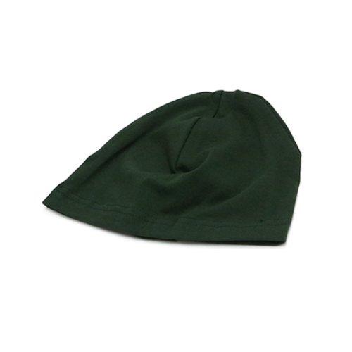 (スパンデックス)SPANDEX CAP DARK GREEN コットンスパンデックスキャップ ダークグリーン 無地 3329