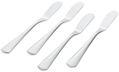 Ginkgo International Mariko Stainless Steel Butter Spreaders, Set of 4 international relatins
