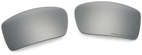 Oakley Gascan Polarized Replacement Lenses,Black Iridium,one size (Gas Can Sunglasses compare prices)