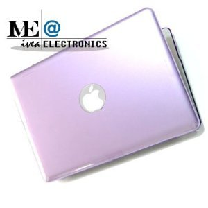 IVEA PURPLE Crystal Clip on See Thru Hard Case Cover for New Macbook Pro 13