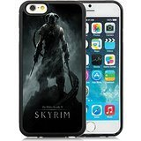 iPhone 6 Case,The Elder Scrolls V Skyrim Dragonborn Warrior Skyrim Sword Helmet Black Case for iPhone 6S 4.7 Inches,TPU Cover