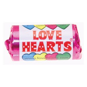 Swizzels Matlow Love Hearts Mini Roll Sweets