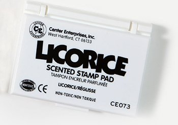 14 Pack CENTER ENTERPRISES INC. STAMP PAD SCENTED LICORICE BLACK