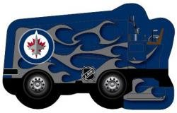 NHL Winnipeg Jets Zamboni Bank & Candy Holder (includes 150g of Kerr'sTM Double Fruit Sours)