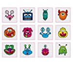 Monsters Tattoos Pack of 12 - Great P...