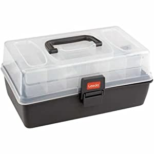 Leeda 2 tray cantilever box for fishing tackle for Amazon fishing equipment