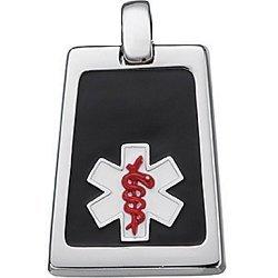 Titanium Adjustable Medical ID Bracelet