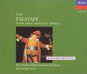 Verdi - Falstaff / G. Evans · Freni · Simionato · R. Merrill · Kraus · RCA IOO · Solti
