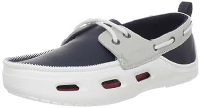 crocs Men's Cove Sport Loafer,Navy/White,13 M US