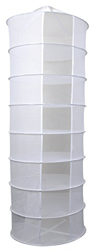 Apollo Horticulture 2ft 8 Layer Collapsible Mesh Hydroponic Drying Dry Rack Net
