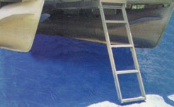 Image of Crone 4 - Step Pontoon Boat Ladder (B001B985K6)