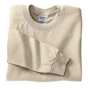 Gildan Ultra Cotton - 100% Cotton Long Sleeve T-Shirt Sand-M - Buy Gildan Ultra Cotton - 100% Cotton Long Sleeve T-Shirt Sand-M - Purchase Gildan Ultra Cotton - 100% Cotton Long Sleeve T-Shirt Sand-M (Gildan, Gildan Mens Shirts, Apparel, Departments, Men, Shirts, Mens Shirts, Casual, Casual Shirts, Mens Casual Shirts)