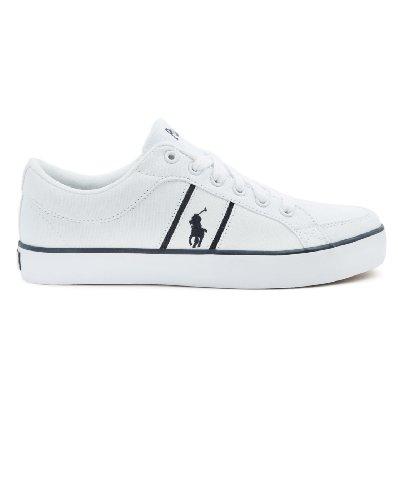 Ralph Lauren, Sneaker uomo Bianco bianco, Bianco (bianco), 6 UK / 40 EU