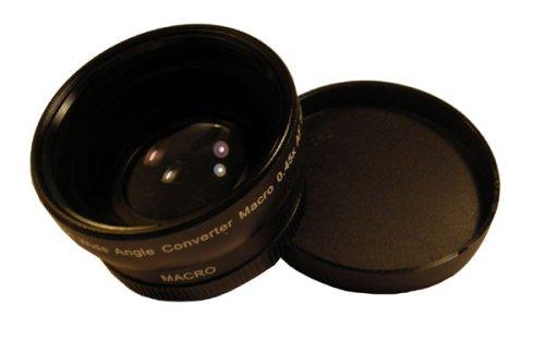 0,45x Weitwinkel 52mm für Olympus M.Zuiko Digital ED 12mm 1:2 Objektiv (WK00B46mm)