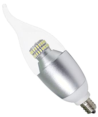 ciata lighting led candelabra 6 watt 60 watt equivalent e12 omnidirectiona. Black Bedroom Furniture Sets. Home Design Ideas