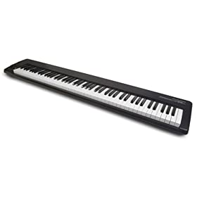 M-Audio PROKEYS 88SX 88-Key Lightweight Stage Piano with Semi-Weighted Action