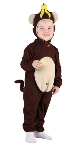 Toddler Monkey Fancy Dress Costume Age 3 Years