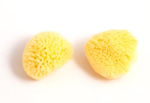 Fine Medium Size Make up Sponges Pack of 2