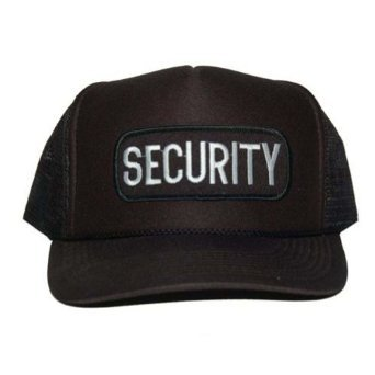 Law Security Trucker Hat Adjustable - Black