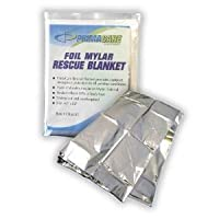 Emergency Mylar Thermal Blankets (Pack of 10) from Medique