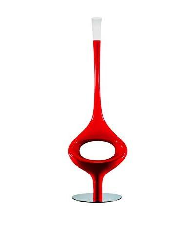 Kundalini Asana Floor Lamp, Red