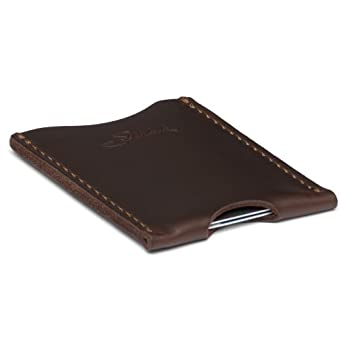 Saddleback Leather Wallet Sleeve Dark Coffee Brown