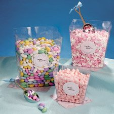 Candy Buffet Square Plastic Container Set