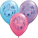 Pioneer National Latex Sofia The First 12 Latex Balloons, 6 Count