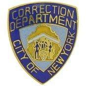 Metal Lapel Pin - Law Enforcement Pin - New York City Correction Department