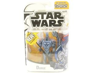 Star Wars Animated Clone Wars Figures Durge