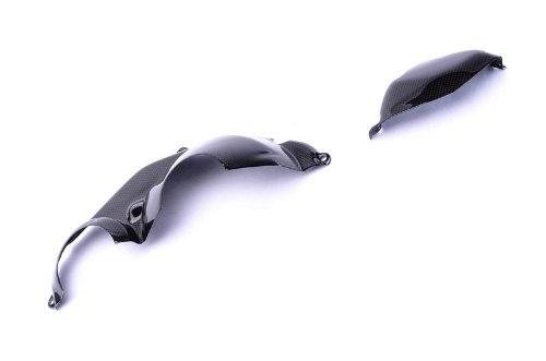 Bestem CBHO-1K08-EGC Black Carbon Fiber Engine Covers for Honda CBR1000RR 2008 - 2011