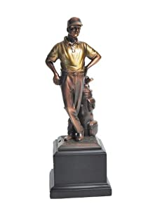 Golf Gifts and Gallery Bronzed Golfer Statue (11-Inch)