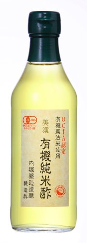 Uchibori vinegar organic facial lotion 360 ml