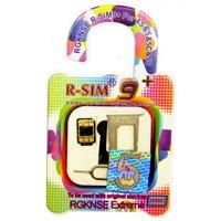 R-SIM9+ iOS8対応 iPhone6 6Plus SIMフリー(au対応) SIMロック解除アダプタ