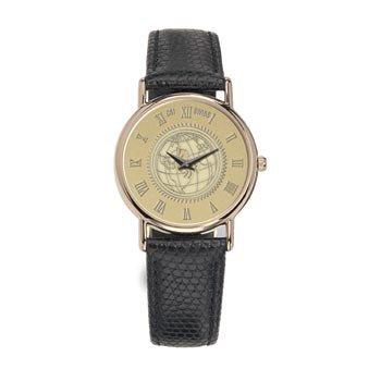 Southern Illinois University - Men's 18K Gold 7M Watch Black
