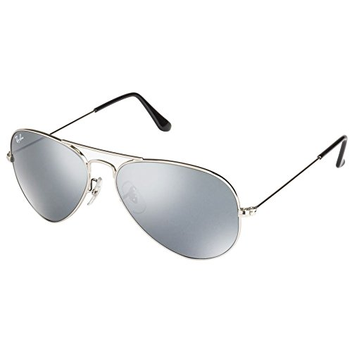 Ray-Ban Aviator Large Metal Sunglasses - Silver / Grey