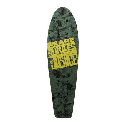 Cheapest Prices! Teenage Mutant Ninja Turtles Kids 21 Complete Skateboard (Turtles of Justice)
