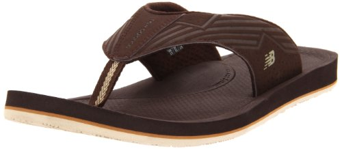 New Balance Mens Mosie Thong,Chocolate,7 M front-637874