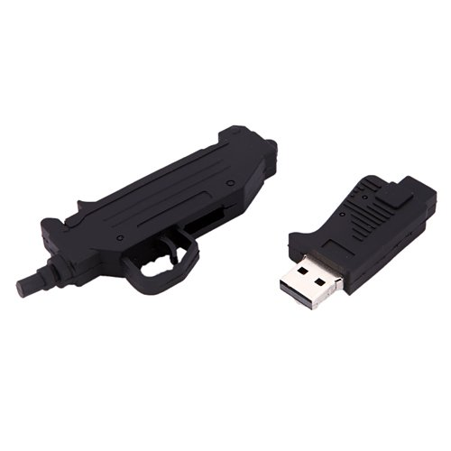 Black Uzi Flashdrive - 8GB