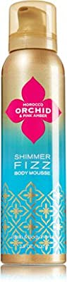 Bath & Body Works Morocco Orchid & Pink Amber 3.5 Oz Shimmer Fizz Body Mousse