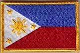 Country Flag Embroidered Patch T8 - Philippines