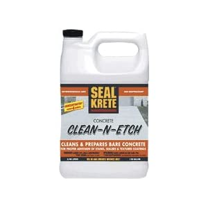 Painting Garage Floors: Clean-N-Etch 64 oz.