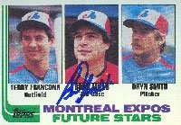 Brad Mills Montreal Expos 1982 Topps Autographed Hand Signed Trading Card. by Hall+of+Fame+Memorabilia