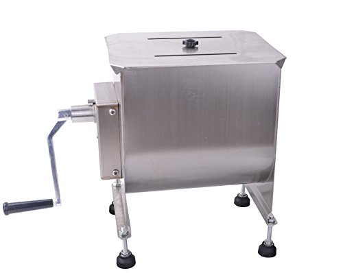 Hakka 40 Lbs Tank Capacity Stainless Steel Meat Mixer (Fit 16 Kg Meat or Food) (Hand Meat Mixer compare prices)