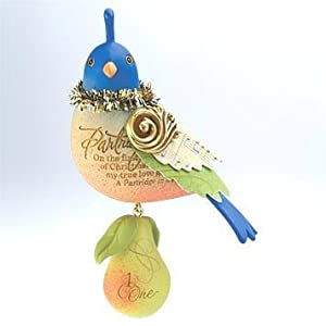 #!Cheap Partridge in a Pear Tree #1 in the Twelve Days of Christmas series Hallmark Ornament