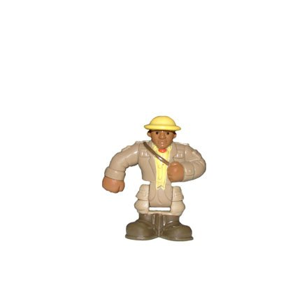 Fisher Price GeoTrax On The Go Zoo Zookeeper Figure (Geotrax Figures compare prices)