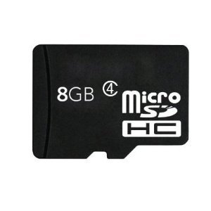 Global 8GB microSD High Capacity (microSDHC) Flash Memory Card - (Class 4) - 8 GB