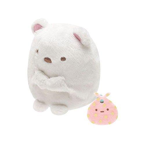 San-x Sumikko Gurashi Plush 2'' Polar Bear w/ Furoshiki - 1