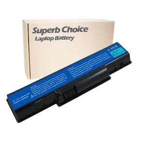 Superb Choice New Laptop Replacement Battery for GATEWAY NV52 NV53 NV54 NV56 NV58 NV78 EMACHINE D525 D725; Replacement for AS09A61 AS09A41 AS09C31 AS09C71 AS09C75; 4400 mAh; 6 cells