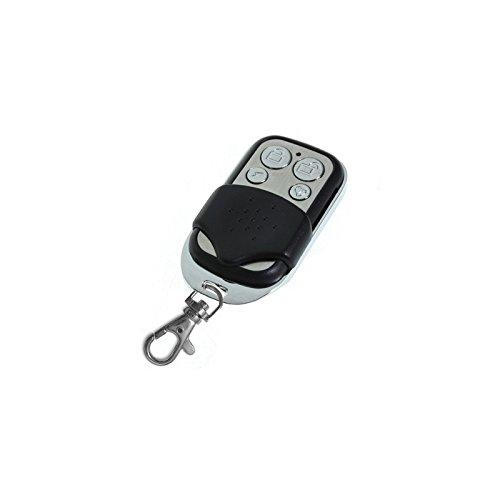 HD-Line 2X tel garage Lot de 2 Télécommandes pour Porte de Garage/Portail Alarme 433 Mhz Argent